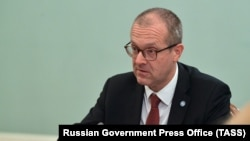 RUSSIA -- WHO Europe Director Hans Kluge attends a meeting with Russian Prime Minister in Moscow, September 23, 2020