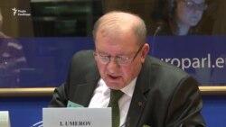 Доповідь Ільмі Умерова в Європарламенті
