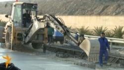 Zığ - Hava limanı beton yolu təmirə bağlanıb