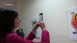 Kiyevde Rusiye siyasiy mahbüsleri fotosüretleriniñ sergisi açıldı (video)