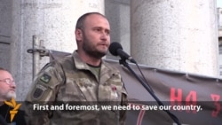 Right Sector Leader Declares 'New Stage Of Ukrainian Revolution'