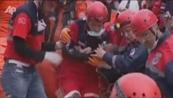 Infant Rescued From Earthquake Rubble In Turkey