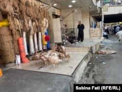 Bazarul din Sulaymaniyah, Irak, septembrie 2021.