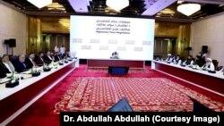 گفتگوهای هیئت بلند پایه افغانستان و طالبان در قطر