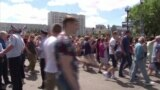 В Хабаровске протесты в защиту арестованного губернатора края