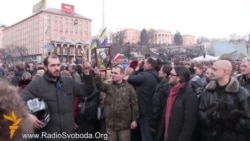 Ukraine Protesters Honor The Dead