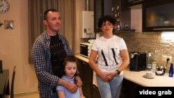 Парнаоз Сванидзе с семьей