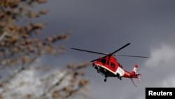 Въздушна линейка в американския щат Юта превозва пациенти с COVID-19, които имат спешна нужда от болнично лечение