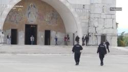 Vaskršnja liturgija SPC bez vernika u Podgorici