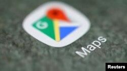 Ikona e aplikacionit Google Maps.
