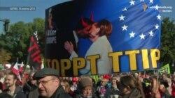 Німці протестують проти торговельної угоди між ЄС та США