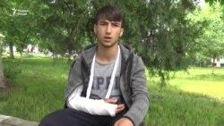 Занозании гурӯҳии мактабхонҳо дар Душанбе