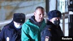 Арест Алексея Навального, 18 января 2021 года
