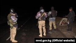 Пограничный патруль, Баткенская область Киргизии в ночь на 2 мая