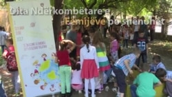 Fëmijët festojnë ditën e tyre