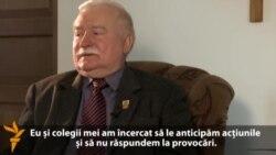 Lech Walesa laudă Occidentul pentru contribuție la înfrângerea comunismului în Polonia