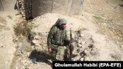Afganistanski vojnik u Laghmanu, gdje su talibani prošle nedjelje pokrenuli ofanzivu.