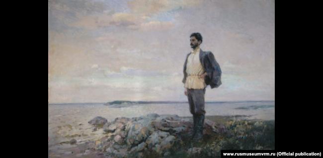 Я. Николаев. Сталин в Туруханском крае. 1947. Государственный Русский музей.
