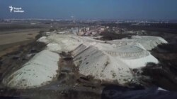 Белыя горы ў Гомлі — 20 млн тон адкідаў хімзаводу