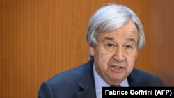 Sekretari i përgjithshëm i Kombeve të Bashkuara, Antonio Guterres.