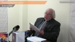 Іван Драч у Києві читав вірші про війну та Майдан