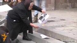 Րաֆֆի Հովհաննիսյանը ձեռքերով հանգցրեց կրակը