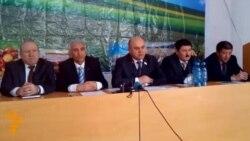 Пресс-конференция Аграрной партии Таджикистана