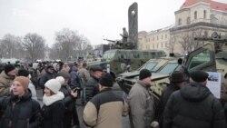 У Львові пройшли Маршем захисників на честь Збройних сил України (відео)