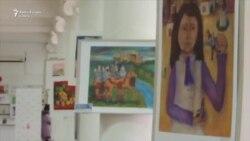 Tinerii pictori de pe ambele maluri ale Nistrului, într-o expoziție comună