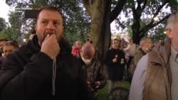 Protest 'Bukom protiv diktature' ispred Predsedništva u Beogradu