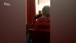 Встреча Владимира Босого с жителями Нёноксы