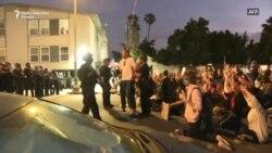 Hapšenja tokom mirnih demonstracija u Los Angelesu