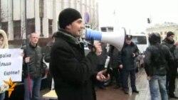 Київські активісти закликали ЄС підписати угоду з Україною