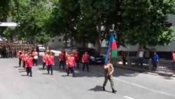 Respublika günü ilə bağlı Bakıda hərbi yürüş