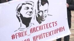 Закон чи віра: активісти захищали архітекторів, віряни – споруду УПЦ (МП) у Києві (відео)