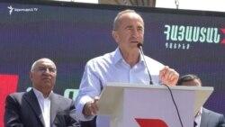 «Հայաստան»-ը Լոռիում «արժանապատիվ խաղաղություն, թռիչքաձև զարգացող տնտեսություն, ազգային համերաշխություն»խոստացավ