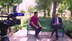 Мусоҳибаи президенти Радиои Озодӣ баъди мулоқоташ бо вазири тоҷик