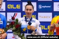 Олена Старікова вперше стала чемпіонкою Європи