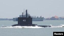 Подводная лодка «Нангала» в 2014 году.