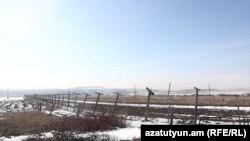 Հայ - թուրքական սահմանը Հայկաձորի մոտ, փետրվար, 2021թ․