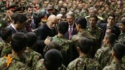 Хамід Карзай виступив перед курсантами нової військової академії у Кабулі