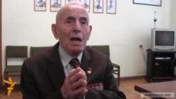 95-ամյա վետերանը կրթությունը կիսատ թողնելով մեկնել է ռազմաճակատ