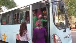 Aşgabat: awtobus güzaplary