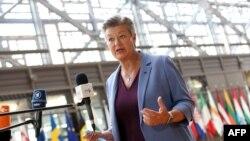 Еврокомисарката по вътрешни работи Илва Йохансон