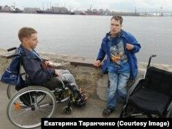 Саша и Яша на Финском заливе