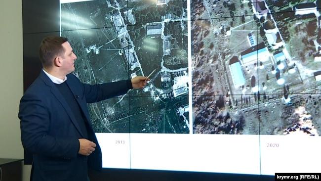 Сергей Янчевский, начальник информационно-аналитического центра Национального космического центра Украины