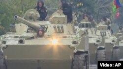 ورود ارتش آذربایجان به ناحیه آغدام