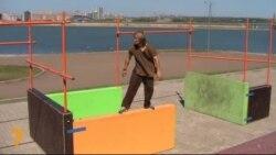 Казанга паркур десанты төште