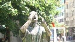 Skulptura Srebreničanina