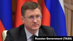 Russian Deputy Prime Minister Aleksandr Novak (file photo)